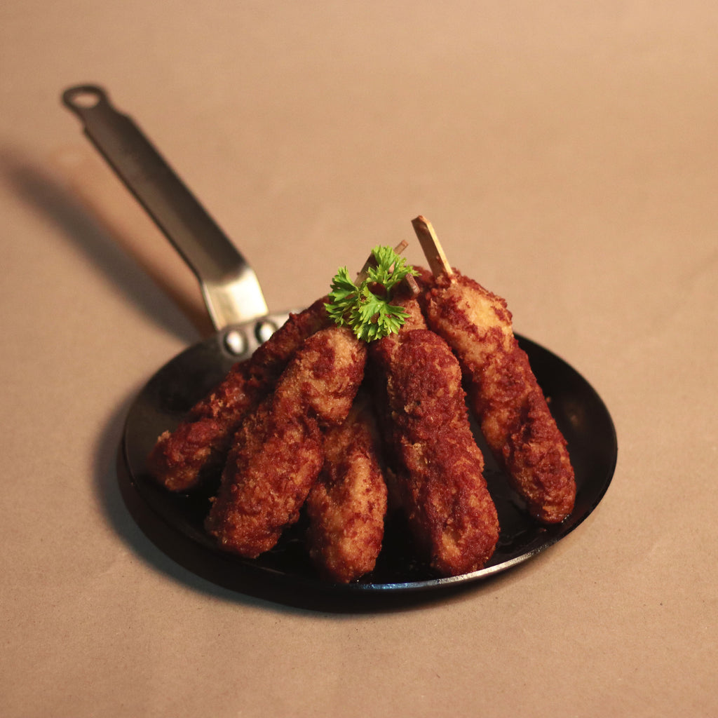 Hot Chicken Skewers
