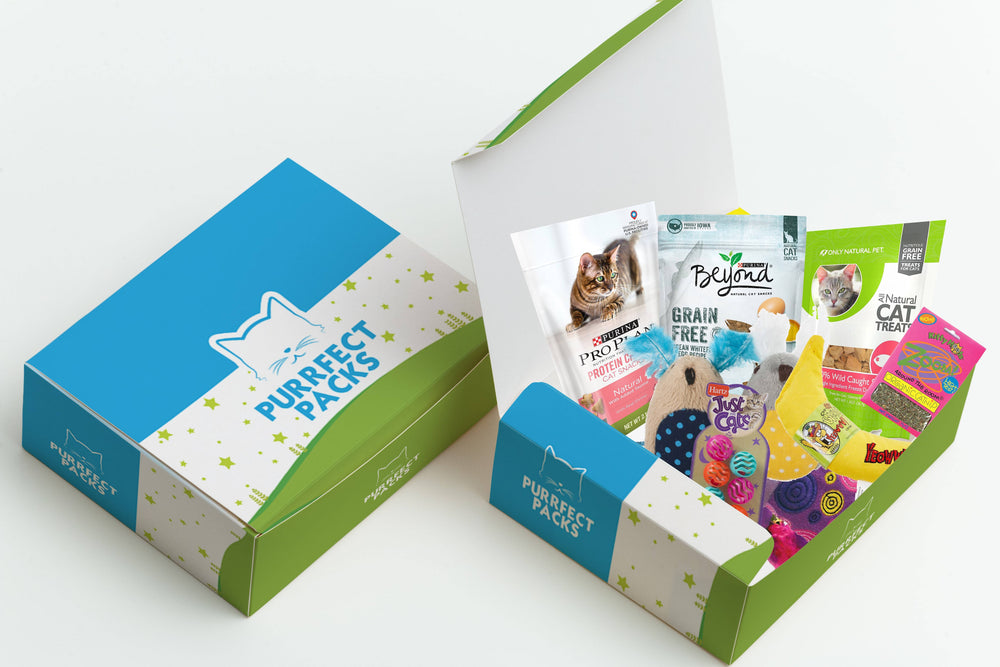 Purrfect Packs Subscription Box - $27