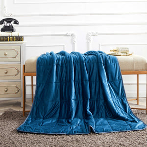 Dream Theory 15 & 20 LB Mink to Mink Weighted Blanket