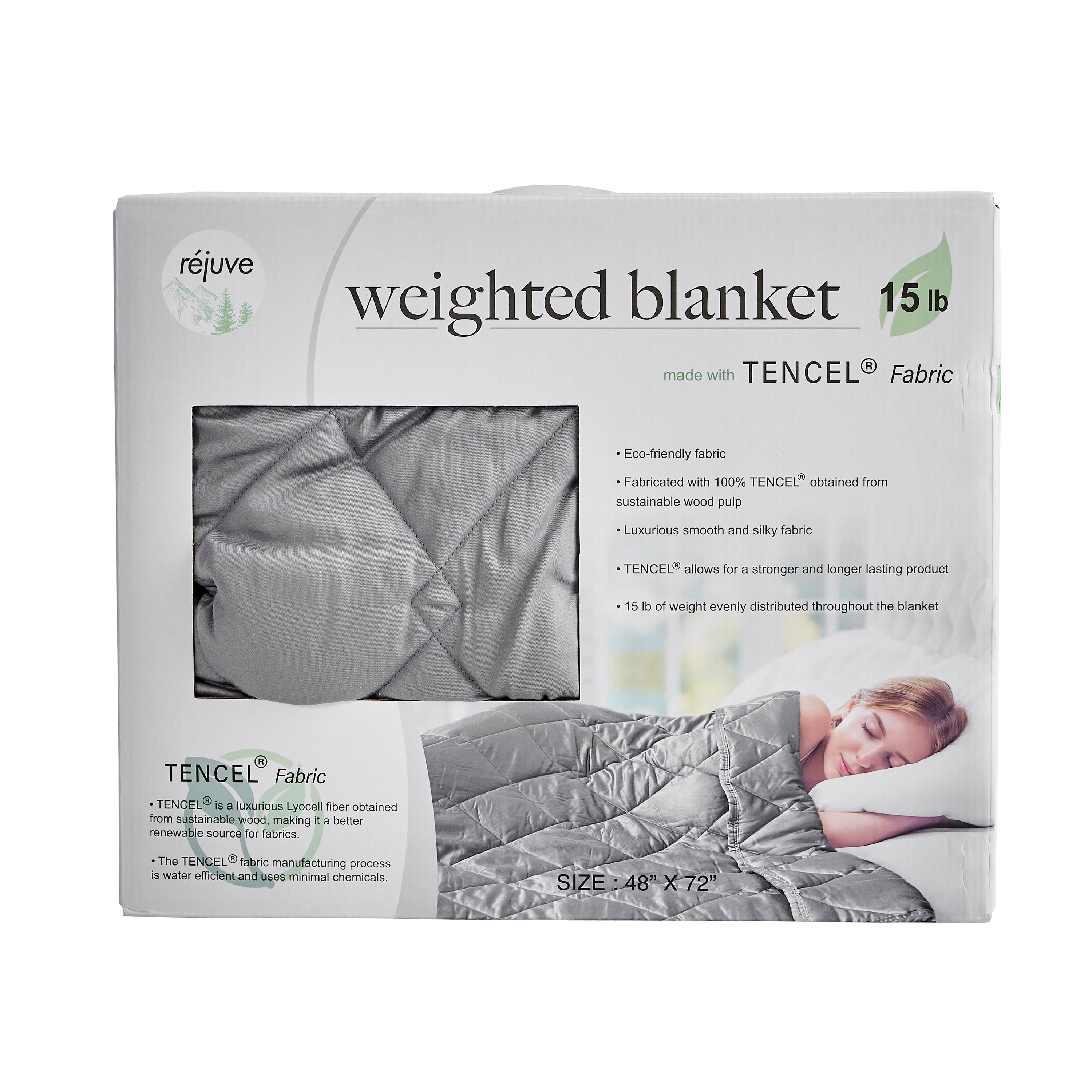 Eco-Friendly Tencel Weighted Blanket