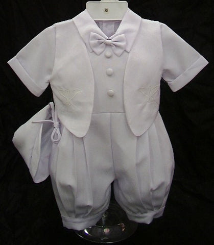 Christening Jumpsuit #FK8039 - Growing Kids