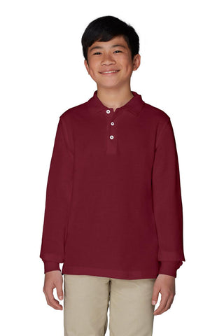 Unisex Long Sleeve Polo - Growing Kids