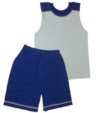 Sleeveless Short Set #PM1018 - Growing Kids