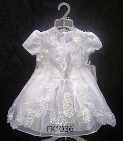 Christening Dress #FK1036 - Growing Kids