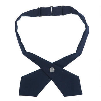 Girl's Solid Cross Tie - Growing Kids