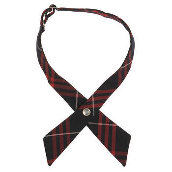 Girl's Plaid Tie #10744 - Growing Kids