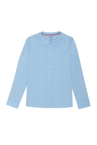 Long Sleeve Peter Pan Blouse #FT-SE9384 - Growing Kids