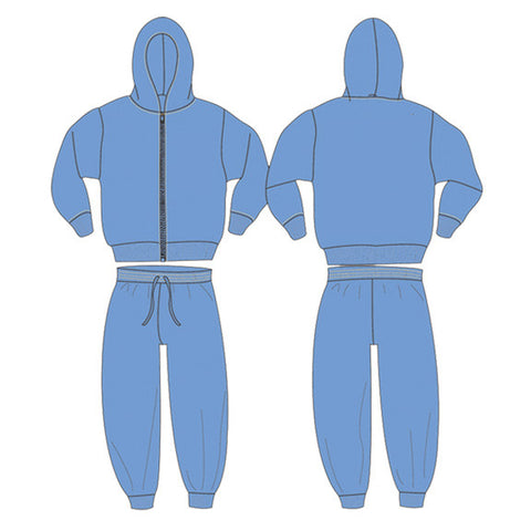 Zip Hoodie & Pants Set #PM5006 - Growing Kids