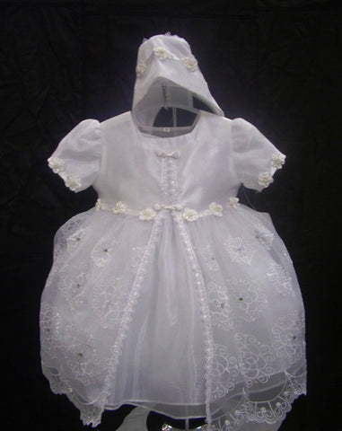 Christening Dress #FK2636 - Growing Kids