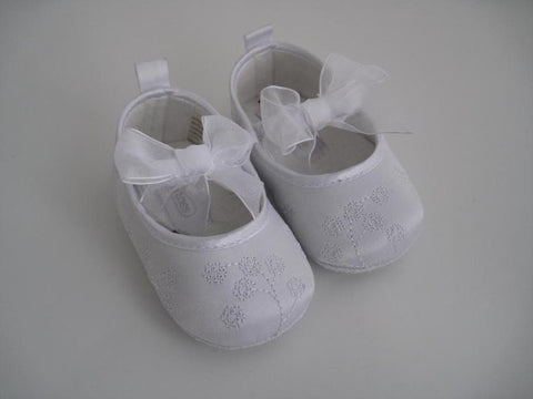Christening Shoes LU-4162 - Growing Kids