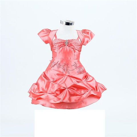FK 8027 - Coral Dress - Growing Kids