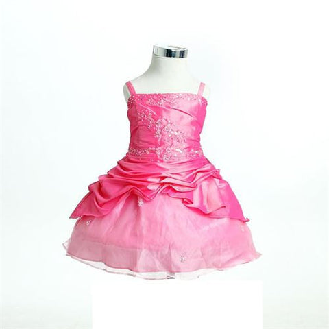 FK-8033  Pink Dress - Growing Kids