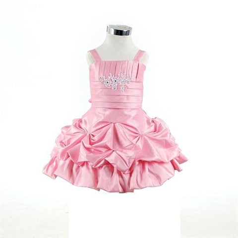 FK 8076 Pink Dress - Growing Kids
