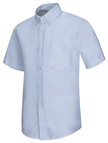 MEN'S & YOUTH SHORT SLEEVE OXFORD SHIRT 5760 - Growing Kids