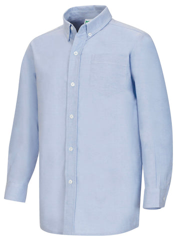 MEN'S & YOUTH LONG SLEEVE OXFORD SHIRT 5765 - Growing Kids