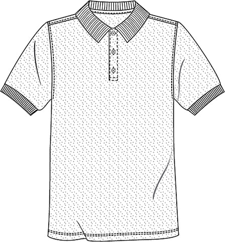 Copy of UNISEX SHORT SLEEVE ADULT PIQUE POLO 5832 - Growing Kids
