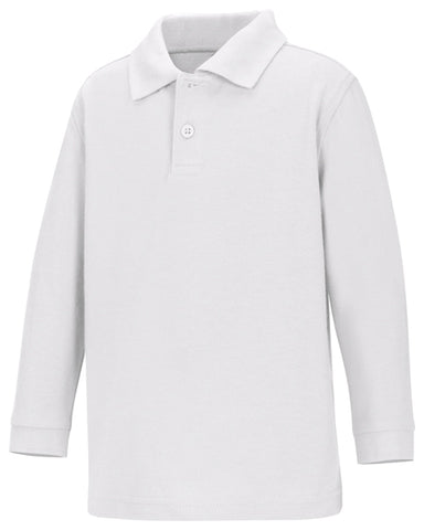 Christine - UNISEX LS PIQUE POLO  58350 - Growing Kids
