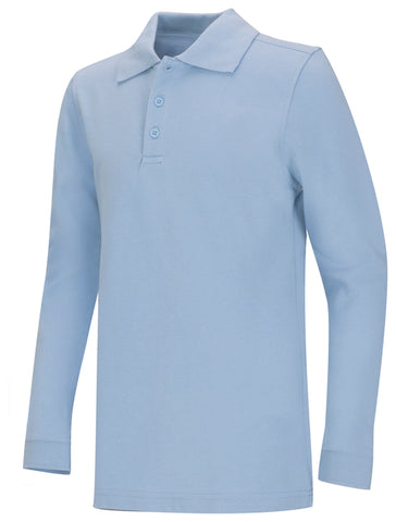 REDEEMER ADULT UNISEX LONG SLEEVE PIQUE POLO #5835 - Growing Kids