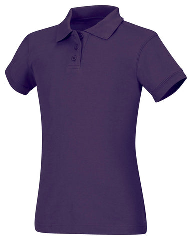 Junior & Adults SS FITTED INTERLOCK POLO # 5858 - Growing Kids