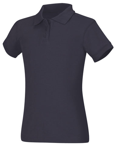LADIES SS FITTED INTERLOCK POLO #CLS 58584