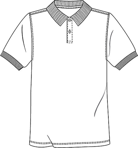 Christine - UNISEX SS INTERLOCK POLO  58830 - Growing Kids