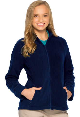 JUNIOR & GIRLS FITTED POLAR FLEECE JACKET 5910 - Growing Kids
