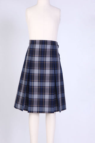 GIRLS PLUS PLAID KICK PLEAT SKIRT in 7 PLAIDS