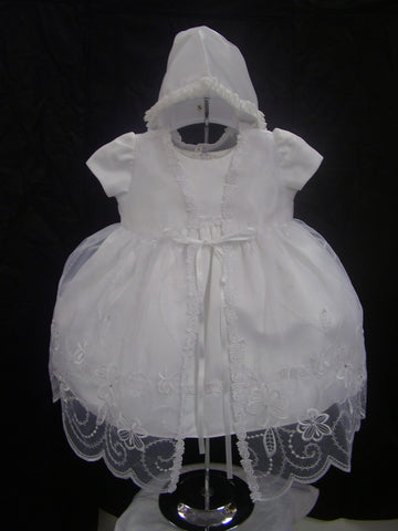 Christening Dress #FK603 - Growing Kids