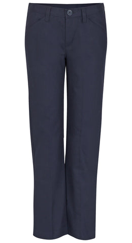 Real School Girls Flat Front Pants #61073 - Growing Kids