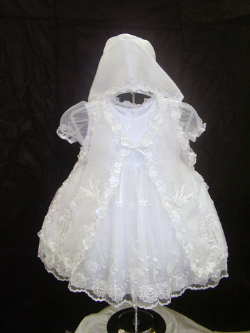 Christening Dress #FK731 - Growing Kids