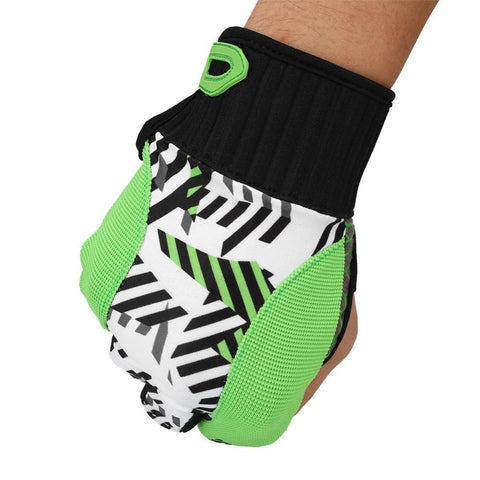 Bowling Ball Gloves 2 Color Protective Non-slip Semi-finger Mitten Sport Fitness Running Gloves - Growing Kids