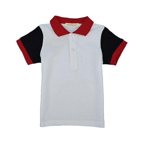 Boys casual multi colors sports t shirt summer short sleeve clothes boys top tee back to school kids polo shirts kids clothes t - Growing Kids