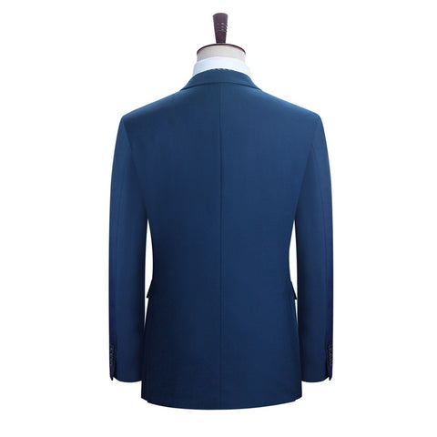 DAROuomo Men Suits Blazer With Pants Slim Fit Casual One Button Jacket for Wedding - Growing Kids
