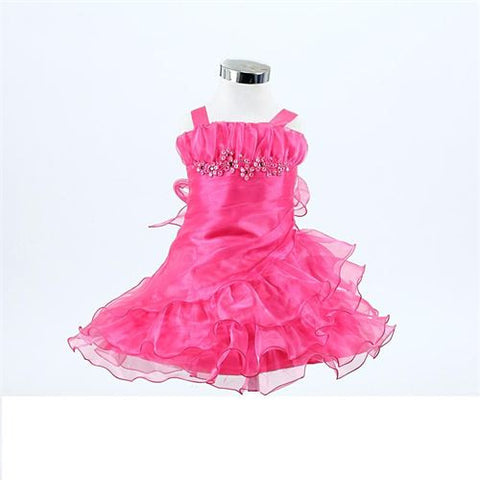 FK8080 Fuschia Dress - Growing Kids