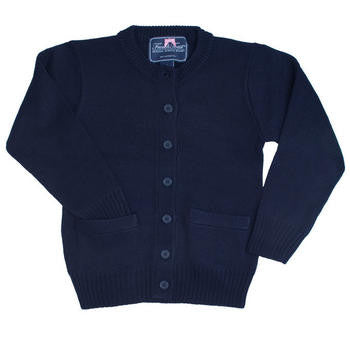 Girls Crew Neck Cardigan #C-M10 - Growing Kids