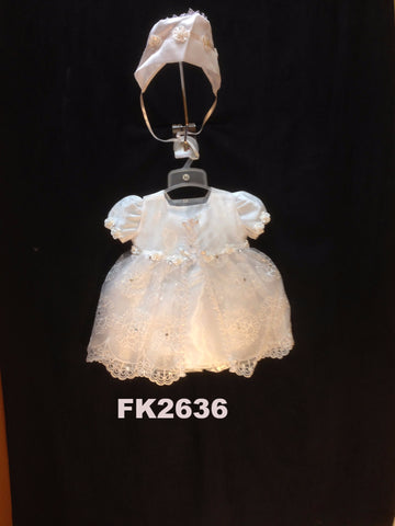 Christening Dress FK1036 - Growing Kids