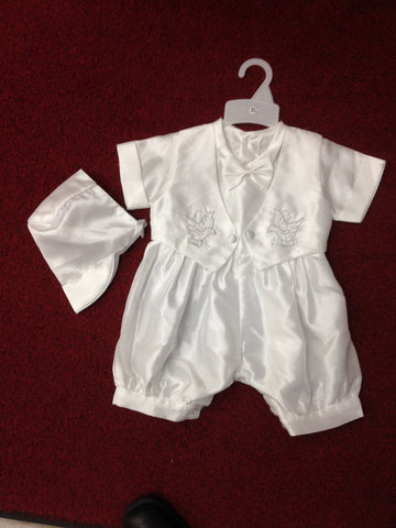 Christening Jumpsuit #FK-8067 - Growing Kids