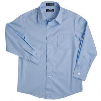 Long sleeve dress shirt #FT-E9004td - Growing Kids