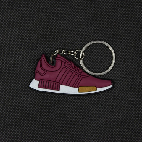 Mini Silicone NMD Keychain Fashion Men and Woman Bag Charm Keyrings Pendant Trinket Car Keyring small gifts 17 colors - Growing Kids