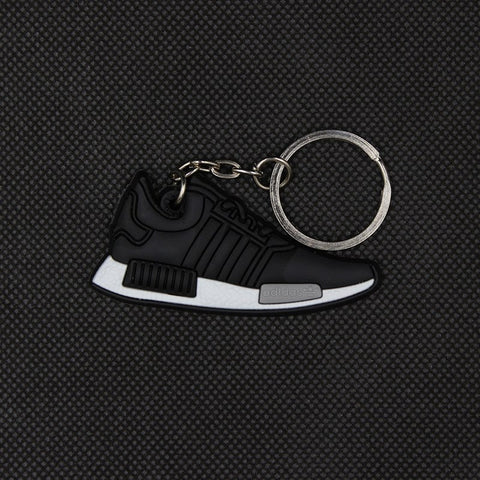 luca's Mini Silicone NMD Keychain Fashion Men and Woman Bag Charm Keyrings Pendant Trinket Car Keyring small gifts 17 colors - Growing Kids