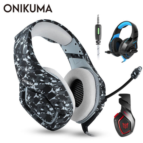 Luca's ONIKUMA K1 PS4 Gaming Headset casque Wired PC Stereo Earphones Headphones with Microphone for New Xbox One/Laptop Tablet Gamer