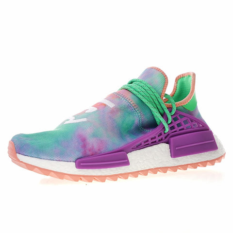 luca's Original New Arrival Official Adidas Originals Hu Trail 'Holi Pack' x PharrellMen's & Women's Running Shoes Sneakers AC7034 - Growing Kids