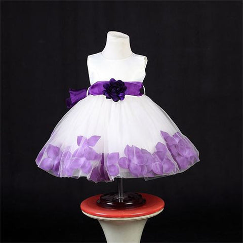 FK8093 Purple Dress - Growing Kids