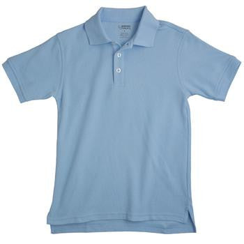 Top Short Sleeve Pique Polo - Growing Kids