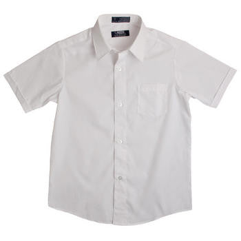 SHORT SLEEVE DRESS SHIRT #FT-E9003 - Growing Kids