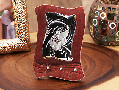 *Vintage Style Dark Wood Icon #CC-W006-DRK - Growing Kids