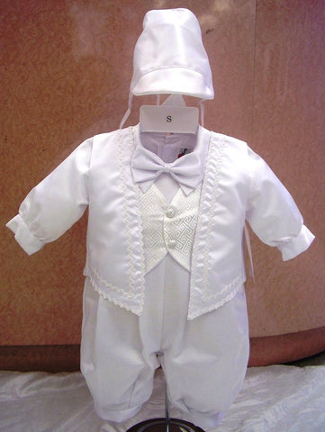 Christening Jumpsuit  FK2500 - Growing Kids