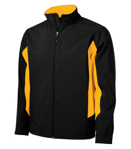 SOO - COAL HARBOUR® EVERYDAY COLOUR BLOCK SOFT SHELL JACKET.SM- J7604