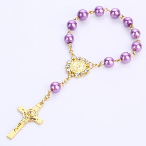 100 Baptism Favors More Colors  Christening Favors Recuerdos De Bautizo  Baptism Favor  Communion Favor Catholic Rosary Bracelet - Growing Kids