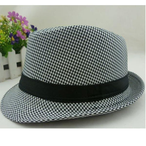OB- Hot sell 2019 Boys fedora top hats for kids - Growing Kids